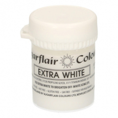 Extra White 42gr Sugarflair Paste Concentrated Colors