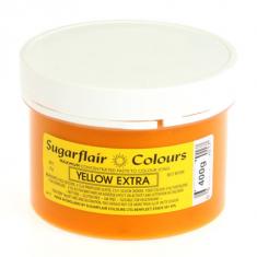Έξτρα Κίτρινο Συμπυκνωμένο Βρώσιμο Χρώμα 400γρ της Sugarflair