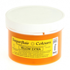 Yellow Extra 400gr Sugarflair Paste Concentrated Colors