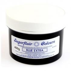Έξτρα Μπλε Συμπυκνωμένο Βρώσιμο Χρώμα 400γρ της Sugarflair