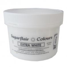 Έξτρα Λευκό Συμπυκνωμένο Βρώσιμο Χρώμα 400γρ της Sugarflair