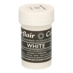 Λευκό Συμπυκνωμένο Βρώσιμο Παστέλ Χρώμα 25γρ της Sugarflair