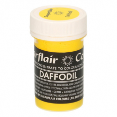 Daffodil 25gr Sugarflair Pastel Paste Concentrated Colors
