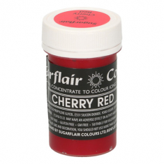 Cherry Red 25gr Sugarflair Pastel Paste Concentrated Colors