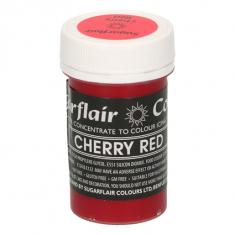 Βαθύ Κόκκινο του Κερασιού Συμπυκνωμένο Βρώσιμο Παστέλ Χρώμα 25γρ της Sugarflair