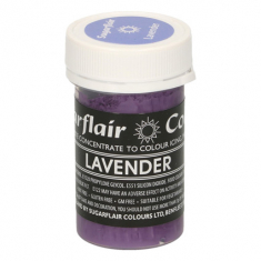 Lavender 25gr Sugarflair Pastel Paste Concentrated Colors