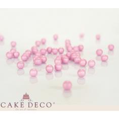 Ροζ Περλέ Σοκολατένιες Πέρλες Δ1εκ. 180γρ