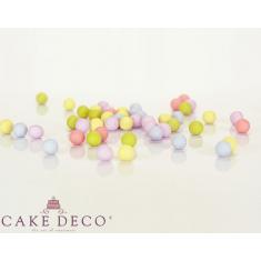 Πολύχρωμες Ματ Σοκολατένιες Πέρλες Δ1εκ. 180γρ