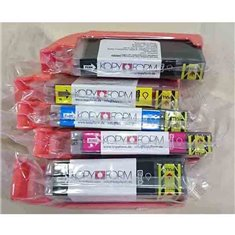 Edible ink Cartridge with Chip, Set of 5 colors (TK151-TK155) (PGI-550 / CLI-551)