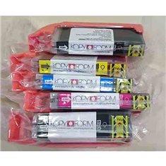 Βρώσιμα Μελάνια KopyForm Σετ 5 χρώματα (PGI-550 / CLI-551) (TK151-TK155)