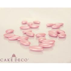 Pearl Pink Crunchy Chocolate Flat Shaped Bonbon 1.7x3cm 180g