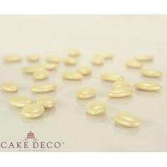 Pearl Champagne Crunchy Chocolate Flat Shaped Bonbon 1.7x3cm 180g