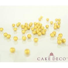 Χρυσές Περλέ Σοκολατένιες Πέρλες Δ1εκ. 180γρ