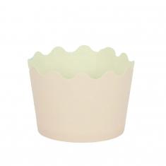 Κυπελάκια Cupcakes με καραμελόχαρτο Μικρά Δ5,7xΥ4εκ. - Ροζ - 20τεμ