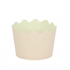 Small Cupcake Cups with anti-stick Baking Sheet D5,7xH4cm. - Pink - 20pcs