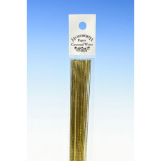 22 Gauge Gold Flower Wires (25Pcs)