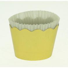 Χρυσό Μεταλλικό - Κυπελάκια για Cupcakes με καραμελόχαρτο - Μικρά Δ5,7xΥ4εκ. 65τεμ