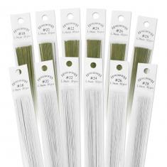 28 Gauge Green Flower Wires (50Pcs)