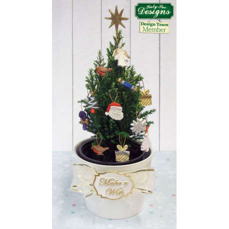 1cd5ffaaeeb Χριστουγεννιάτικα Στολίδια - Καλούπι Σιλικόνης της Katy Sue (Xmas  Embellishments)