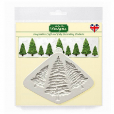 Fir Trees Silhouettes Silicone Mould