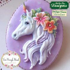 Μονόκερος - Καλούπι Σιλικόνης της Katy Sue (Unicorn Mould)