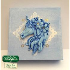 Μίνι Μονόκερος - Καλούπι Σιλικόνης της Katy Sue (Mini Unicorn Mould)