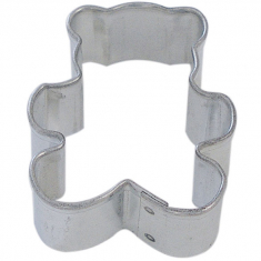 Standing Bear Metallic Cookie Cutter 1.5in