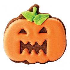 Cookie & Cake Pumpkin Cutter Set of 2