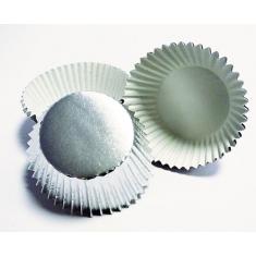Silver Mini Baking Cases 45pcs