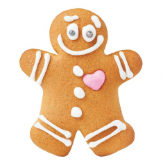 Gingerbread Man Cookie & Cake Cutter Set of 2