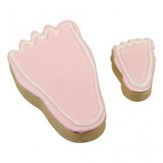 Πατουσάκια Μωρού σετ 2 μεταλλικών κουπάτ για μπισκότα της PME