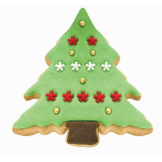 Snow Covered Tree Cookie & Cake Cutter Set of 2