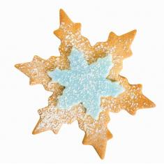 Χιονονιφάδες σετ 2 μεταλλικών κουπάτ για μπισκότα της PME