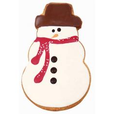 Χιονάνθρωποι σετ 2 μεταλλικών κουπάτ για μπισκότα της PME