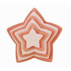 Κουπάτ Αστέρια της PME Σετ 6τεμ.