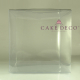 Clear Cube Box 20cm suitable for Xmas gingerbread house