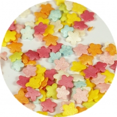 Sprinklicious Mix Πολύχρωμα Λουλουδάκια 50γρ. 7χιλ