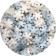 Sprinklicious Mini Snowflake Mix 130g 7mm