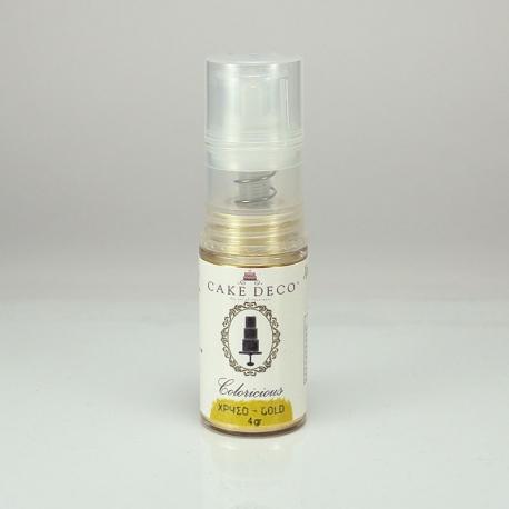 Golden Rain Puff Spray 4g by Coloricious