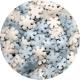 Sprinklicious Mini Snowflake Mix 50g 7mm
