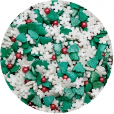 Sprinklicious Χριστουγεννιάτικο Sprinkle Mix 50γρ.
