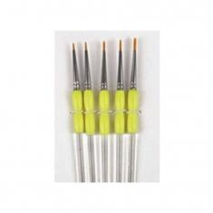 Πινέλα ζωγραφικής λεπτά σε 5 μεγέθη από την PME (Fine Craft Brushes)