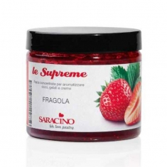 Strawberry Flavouring Paste Saracino Le Supreme 200gr