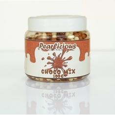 Μίνι Σοκολατένιες Crunchy Μπαλίτσες 4χιλ.  Pearlicious Pearl Mix - 100γρ