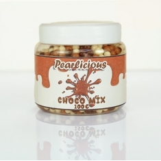 Mini Crunchy Choco balls Pearlicious Mix 4mm 100gr.