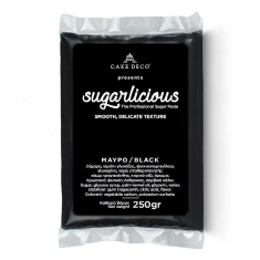 Sugarlicious Sugar Paste ready to Roll Black 250gr.
