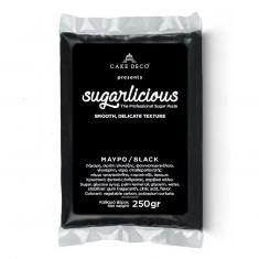 Ζαχαρόπαστα Sugarlicious Μαύρο 250γρ