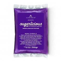 Sugarlicious Sugar Paste ready to Roll Purple 250gr.