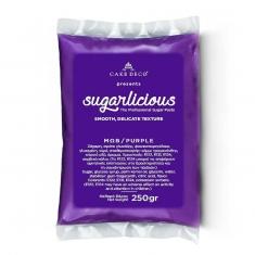 Ζαχαρόπαστα Sugarlicious Μωβ 250γρ