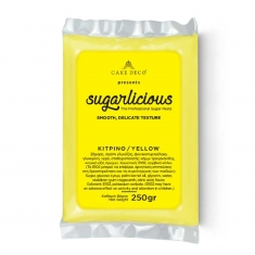 Sugarlicious Sugar Paste ready to Roll Yellow 250gr.